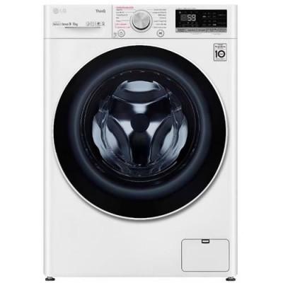 Máquina de lavar e secar roupa LG F4DV5009S0W